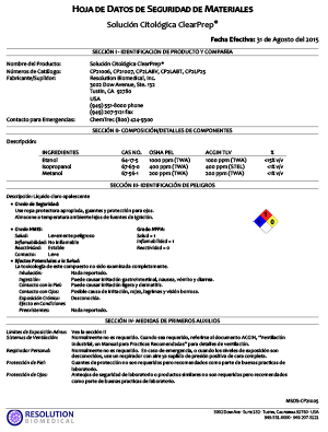MSDS-CP21005-01-ClearPrep-Cytology-Solution-SPANISH-img